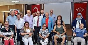 Mersin'deki engellilere Alman gurbetçilerden şefkat eli