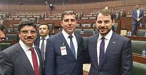 Muhtarlar AK Parti gurup toplantısına katıldı