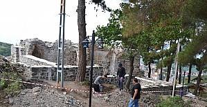 Niksar'daki 'Kale Hamamı' restore ediliyor