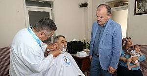 Pamukkale Belediyesi'nden 2 bin kişiye evde bakım hizmeti