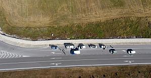 Sinop'ta trafik güvenliği uygulaması