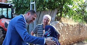 Ürkmezer'den şehit ailelerine ziyaret