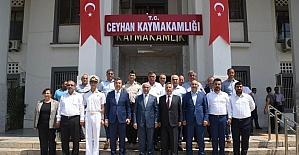 Vali Demirtaş, Ceyhan'da