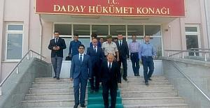 Vali Karadeniz, Daday'ı ziyaret etti