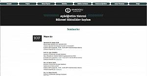 Açıköğretim Sistemi Bilimsel Etkinlikler Sayfası yeni döneme hazır
