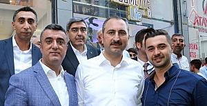 Adalet Bakanı Gül'den Şahinbey ilçesinde ziyaret