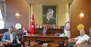 Adalet Komisyonu Başkanı Kahveci'den Baro Başkanı Er'e iadeyi ziyaret