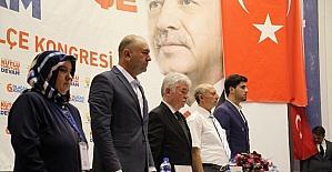 AK Parti Narman İlçe Başkanı Metin Okumuş, güven tazeledi