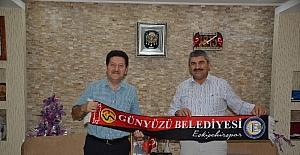 Ak Parti Sosyal Politikalar Başkan Yardımcısı Hasan Fehmi Kinay'dan Başkan Arayıt'a ziyaret