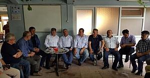 AK Partili Milletvekilleri, Körfez'de vatandaşlarla bir araya geldi