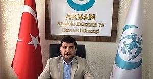 """AKSAN Genel Başkanı Arif Erol; """"Yerel esnaflar ülkenin değeridir"""""""