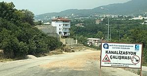 Alanyaspor taraftarlarından stat yolunun tamamlanması yol talebi