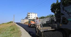 Aralık Caddesi asfaltlanıyor
