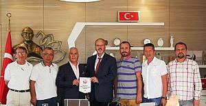 ASGD yeni yönetiminden Bozbey'e ziyaret