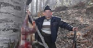 Avladığı karacayı Facebook'ta paylaşan adama 17 bin lira ceza
