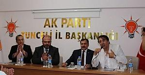 """Aydemir, """"Tunceli'nin de Milletvekiliyim"""""""