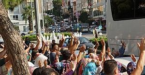 Aydın'da hac kafilesi dualarla uğurlandı
