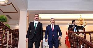 Bakan Arslan, Adalet Bakanı ile Milli Eğitim Bakanı'nı ziyaret etti