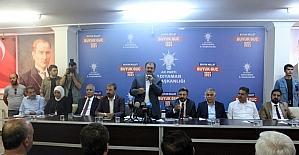 Bakan Veysel Eroğlu Adıyaman'da temaslarda bulundu