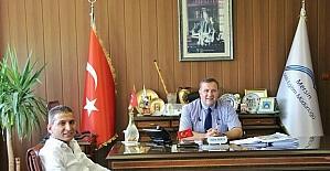 Baro Başkanı Er, Milli Eğitim müdürü Koca ile bir araya geldi