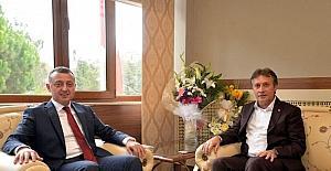 Başkan Demirci ve Vali Büyükakın bir araya geldi