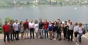 """Başkan Doğan, """"Zohak"""" film ekibiyle biraraya geldi"""