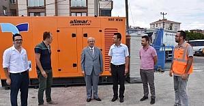 Başkan Kadir Albayrak İçme Suyu Deposu, SCADA ve Otomasyon binasını inceledi
