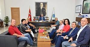 Başkan Kadir Albayrak STK temsilcilerini ağırladı