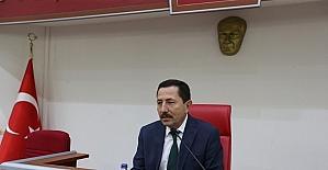 Başkan Toçoğlu brifinge katıldı