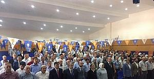 Başkan Yaman, AK Parti ilçe kongrelerine katıldı