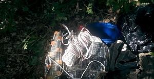 Basma düzenekli 20 kilogram patlayıcı ele geçirildi
