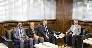 BBP Genel Başkanı Mustafa Destici, Başkan Çelik'i ziyaret etti