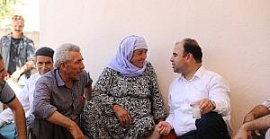 Belediye Başkanı Nihat Çiftçi hafta sonu mesaisini ilçeye ayırdı