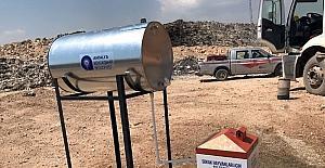 Belediyeden çöp arıtma tesislerinde sokak hayvanları için özel beslenme sistemi