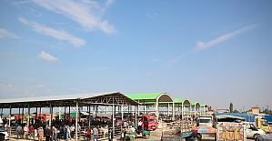 Beyşehir'de hayvan pazarında hazırlıklar tamamlandı
