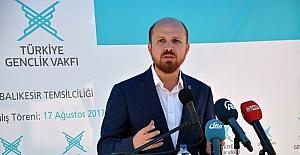 """Bilal Erdoğan: """"Recep Tayyip Erdoğan liderliğinde dünyanın gönlü en geniş milleti olduk"""""""