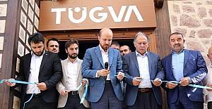 Bilal Erdoğan, TÜGVA Artvin Şubesinin açılışını yaptı