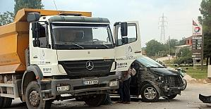 Bilecik'te kaza: 1 yaralı