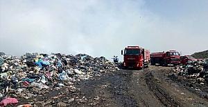 Bodrum çöplük yangını kontrol altında