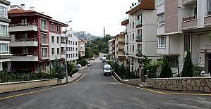 Çankaya'da Aşıkpaşa sokakları asfaltlanıyor