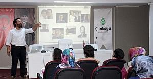 Çankaya'da girişimci kadınlar yetişiyor