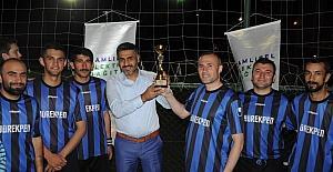 ÇEDAŞ, çalışanları futbol turnuvasına stres attı