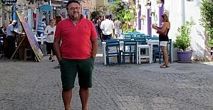 Çeşme'deki turizmcilerde Kurban Bayramı tatili sevinci