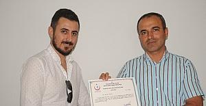 Cizre'de üreme ve cinsel sağlık modüller eğitimi sertifika töreni yapıldı
