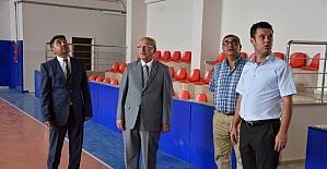 Çorlu Spor Lisesi ve Kapalı Spor Salonu'nda inceleme