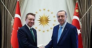 Cumhurbaşkanı Erdoğan, Avustralya Büyükelçisi Brown'u kabul etti
