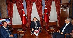 Demirören ve Lucescu'dan Cumhurbaşkanı'na ziyaret