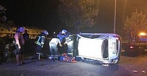 Didim'de trafik kazası; 3 yaralı