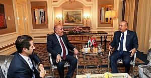 Dışişleri Bakanı Çavuşoğlu, IKBY Başbakan Yardımcısı Talabani ile görüştü