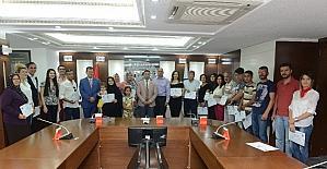 DTO, KOSGEB ve İŞKUR işbirliğinde düzenlenen girişimcilik eğitiminde sertifika töreni